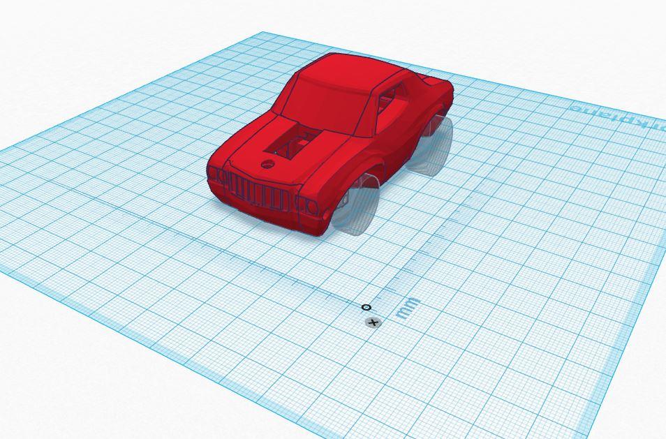 3DRacers - How to create a custom car model